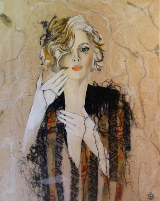 """70 x 90  from the serie """"la femme""""sold"""