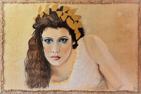 "70 x 105 aus der Serie ""la femme"" sold"