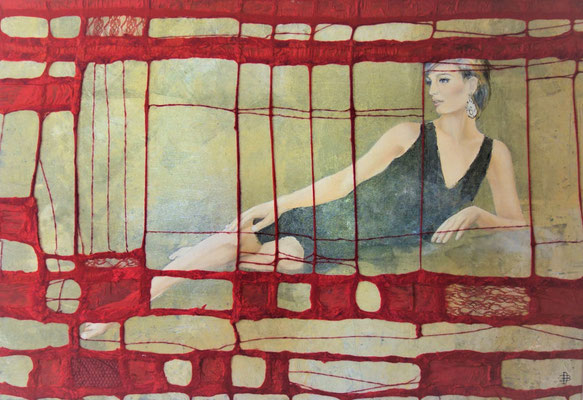 """95 x 140 out of the serie """"la Femme"""""""