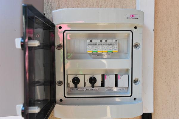 zabezpieczenia i ochronniki prądu stałego