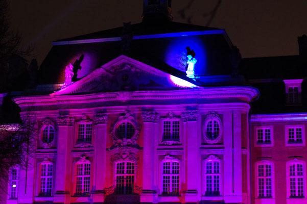 Schaurig-schön: Münster leuchtete und Katja las Schauergeschichten im Schlossgarten