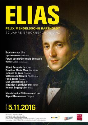 05.11.2016 | ELIAS - 70 Jahre Brucknerchor Linz