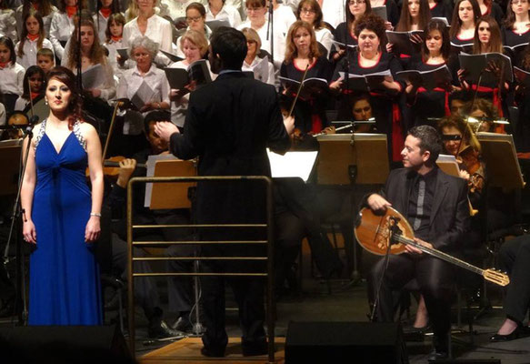 19.-23.03.2016 | Chorreise Thessaloniki | Konzert mit dem Thessaloniki Symphony Orchestra, Choirs S.I.Chrysostomus u.w.