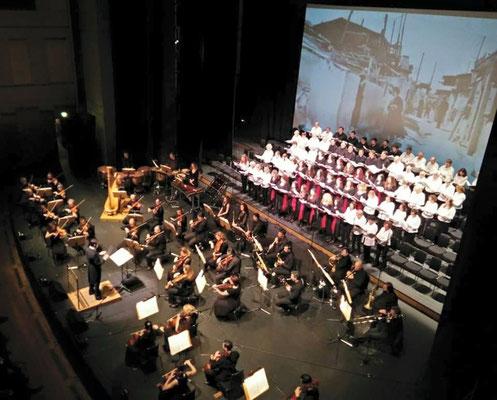 19.-23.03.2016 | Chorreise Thessaloniki | Konzert im Megaron mit dem Thessaloniki Symphony Orchestra, Choirs S.I.Chrysostomus u.w.