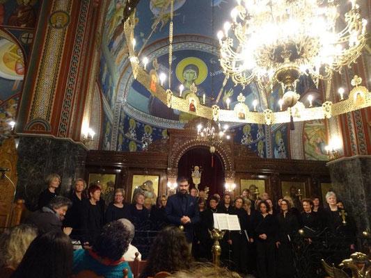 19.-23.03.2016 | Chorreise Thessaloniki | Konzert in der Kirche Agios Ioannis o Prodromos