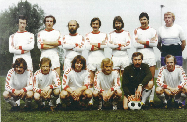1975/76 Schafften den Aufstieg in die 3. Liga