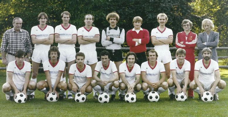 1982 Die 1. Mannschaft
