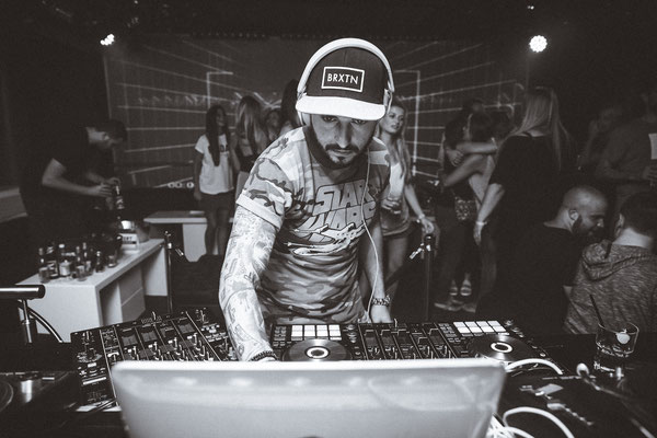 Jolian C Afterparty DJing