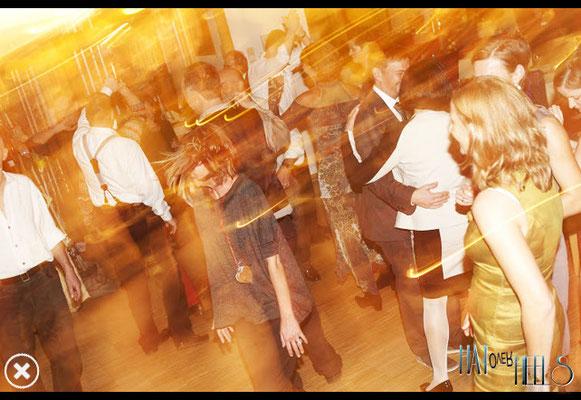 Tanzband - volle Tanzfläche