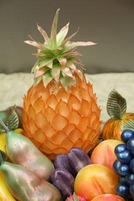 Seidenzucker Füllhorn mit Obst, Ananas
