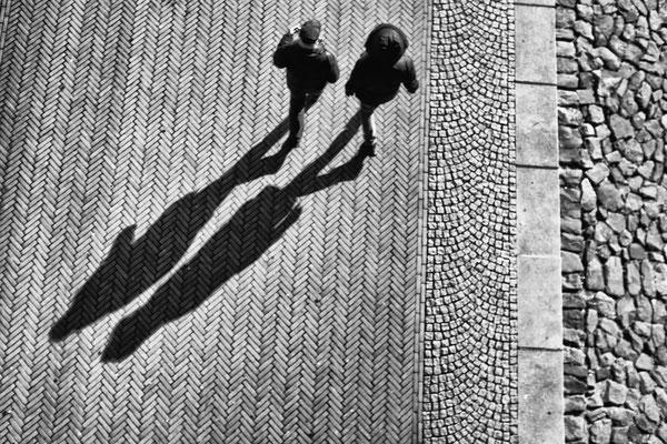 Schatten an der Schlachte