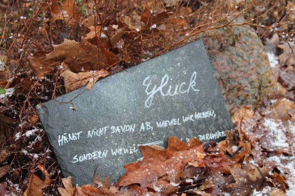 Hanggarten Bornhöved Glück