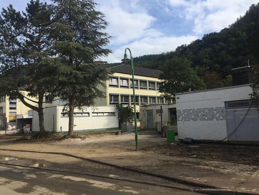 Der Ort Altenburg ist zu 99,0 Prozent stark beschädigt oder zerstört. Die Schule liegt 250 Meter von der Ahr entfernt. Die Warnungen galten nur für 50 Meter zu beiden Seiten der Ahr ...