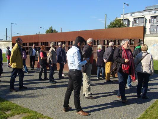 Gedenkstätte derTodesopfer an der Berliner Mauer