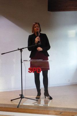 Nancy Faeser Stellv. Fraktionsvorsitzende und innenpolitische Sprecherin der Landtagsfraktion sowie Generalsekretärin der SPD Hessen