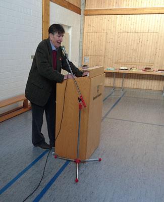 Unser Gastredner der Vorsitzende der SPD AG 60 plus Hessen Süd, Peter Schöbel