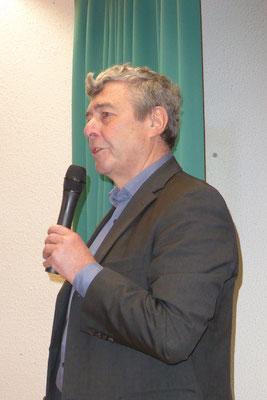 Begrüßung durch den Vorsitzenden Dieter Kirschhoch