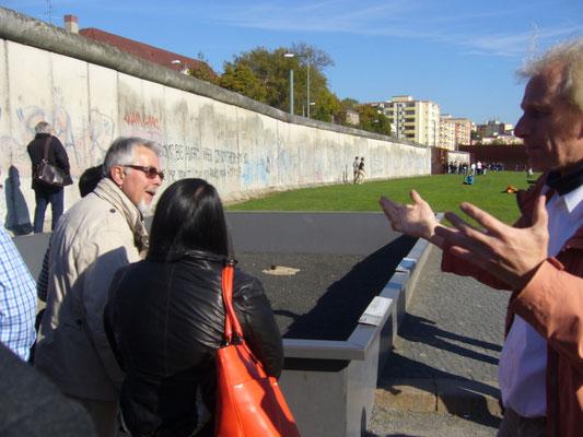 Besuch der Gedenkstätte Berliner Mauer
