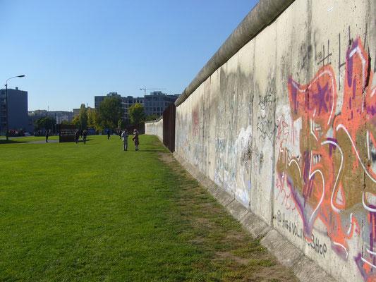 Ein Teil der Berliner Mauer