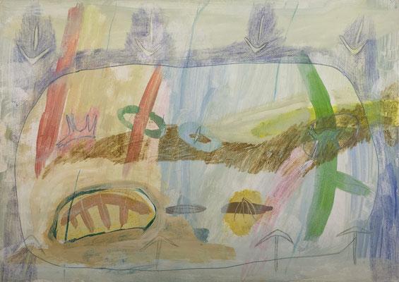 Tornado / drawing, paper, 20x30cm, 1998