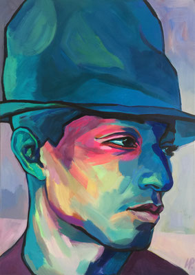 Mr. Pharrell / acrylic on canvas / 88x125cm