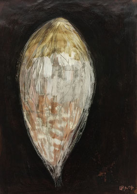 Seed 2 / acrylic, ink on paper, 50x70cm, 2004