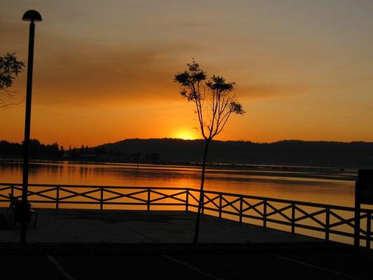 Sonnenuntergang in Noía