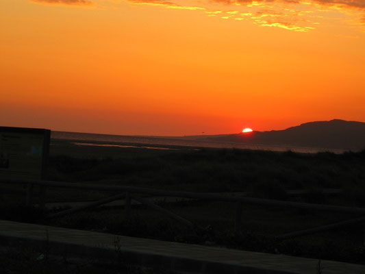 Sonnenuntergang bei Tarifa........