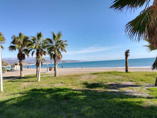 Strand in Torre del Mar
