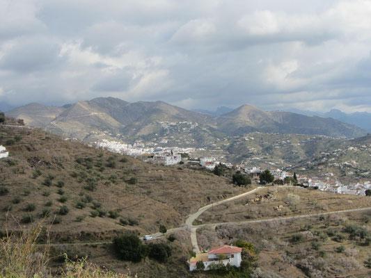 unterwegs nach Canillas de Albaida