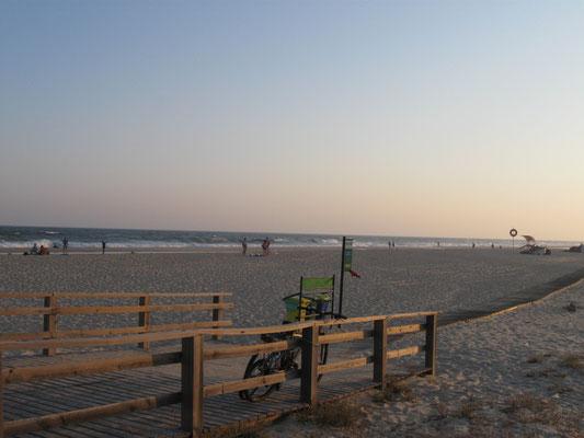 Strand in Manta Rota
