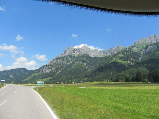 unterwegs nach Oberstdorf