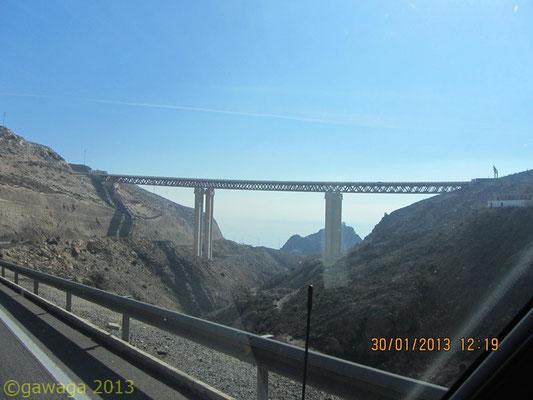 auf der Autobahn vor Almería