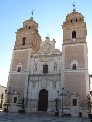 Iglesia de la Encarnación in Vélez Rubio