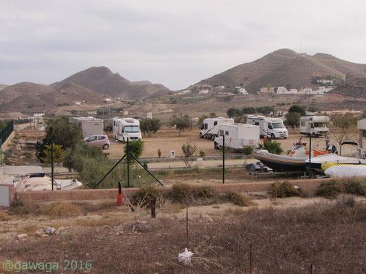 WoMo Stellplatz El Rancho bei Carboneras