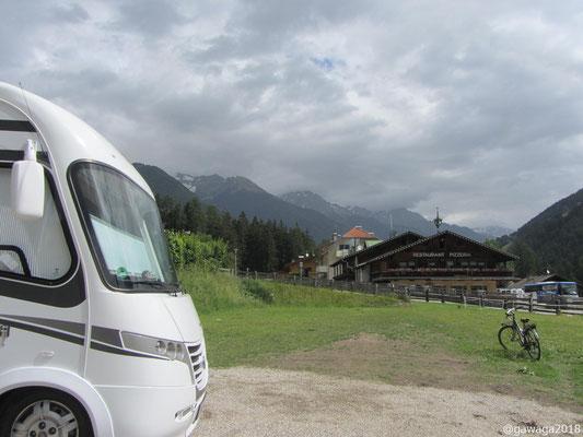 Übernachtung in Luttach