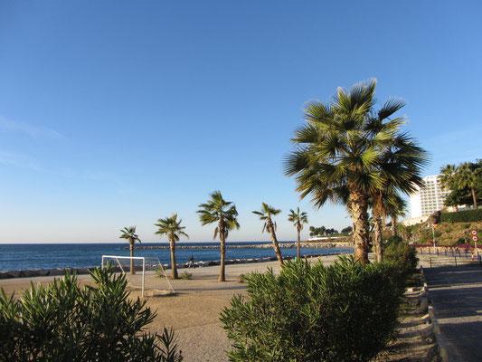 Strand von Benalmádena Costa