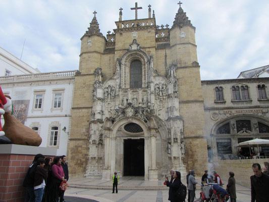 Klosterkirche des Convento de Santa Cruz in Coimbra