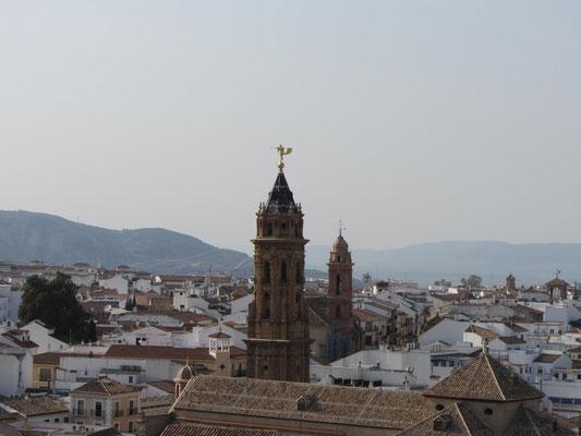 Antequera mit seinen zahlreichen Kirchen