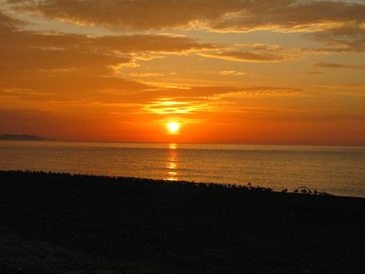Sonnenaufgang Torrox Costa