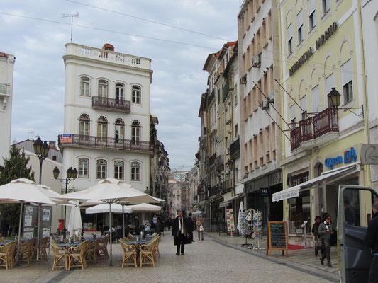 Straße in Coimbra