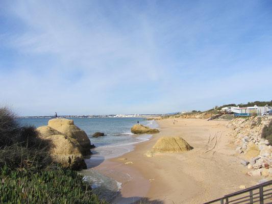 am Strand Nähe Parque de Galé