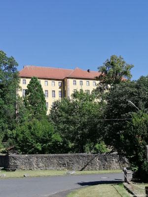 Schloss Tann vom Stellplatz aus