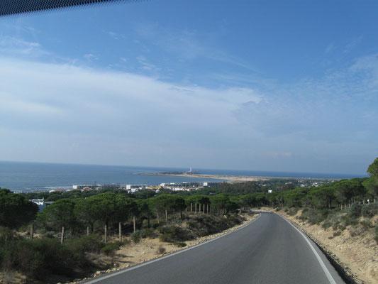 der Faro de Trafalgar, leider nur aus der Ferne