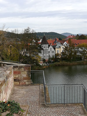 Bad Salzungen am Burgsee
