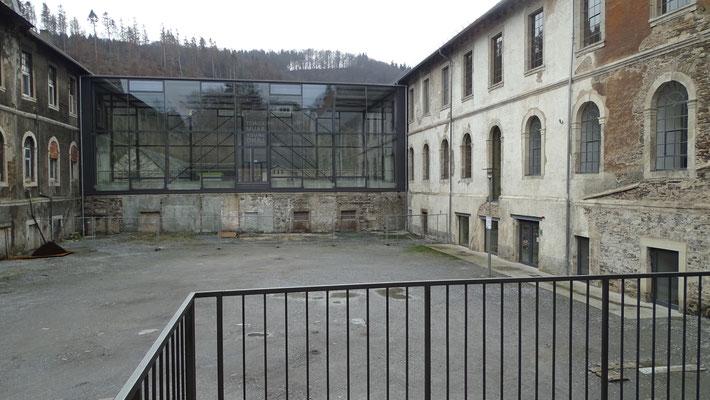 Kloster Bredelar Innenhof