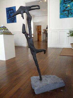Danseres in brons, in 1998 cadeau gegeven aan de organisatie van 'de Gentse Feesten' - Trefpunt vzw, met o.a. Mr. Guido De Leeuw