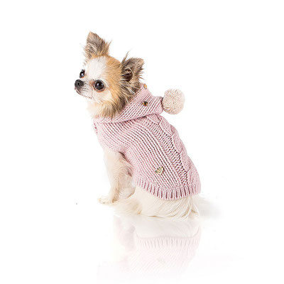 I Love My Dog Ponpon Pullover
