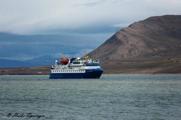 Die Sea Endurance -  Unser Heim für 10 Tage