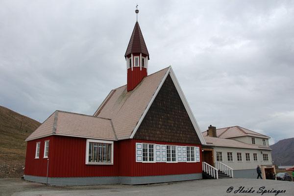 Die Kirche von Longyearbyen